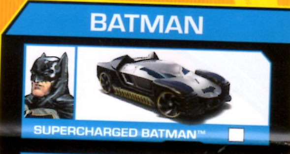 Supercharged Batman Character Car